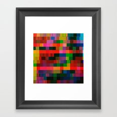 videotape (bear2_hex) Framed Art Print