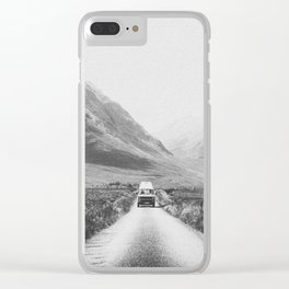 ON THE ROAD XXV / Scotland Clear iPhone Case