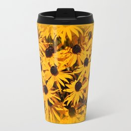 A Bed of Bloomin' Rudbeckias Travel Mug