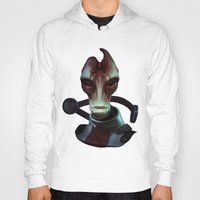 mass effect Hoodies featuring Mass Effect: Mordin Solus by Ruthie Hammerschlag