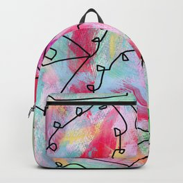 Grab Your Bag and Fly and See the World by Lenna Backpack