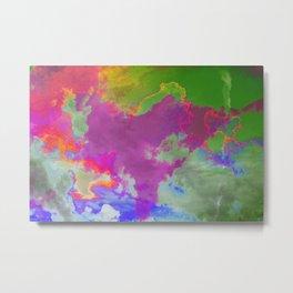 Dreamscapes [cloud maps] Metal Print
