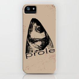 Prole iPhone Case