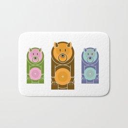 Bear With The Mod Target Belly Bath Mat