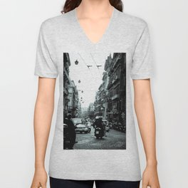Naples, Spanish Quarter 1 Unisex V-Neck