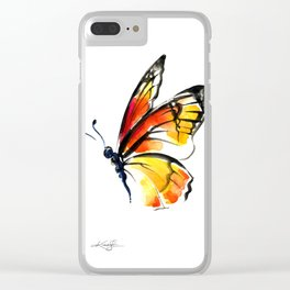 Monarch No. 3 by Kathy Morton Stanion Clear iPhone Case