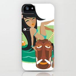 Belly Hai iPhone Case