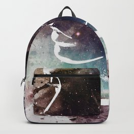 Complicated Feelings Abstract ART Backpack