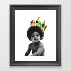 baby big Framed Art Print