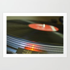 Vinyl#1 Art Print