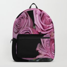 Purple Rose Group-1 Backpack