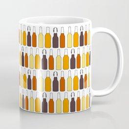 Vintage Beer Bottles Coffee Mug
