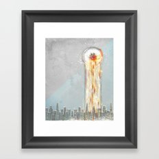 Surge Framed Art Print