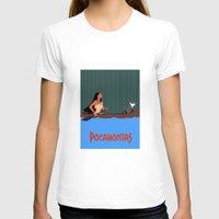 pocahontas T-shirts featuring Pocahontas by TheWonderlander