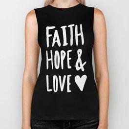 Faith Hope and Love x Mint Biker Tank