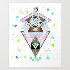 Huyana Spirit  Art Print
