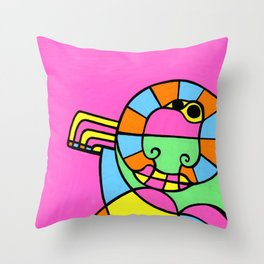 Print #17 Throw Pillow