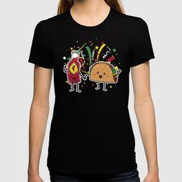 Tacos LOVE Hot Sauce T-shirt