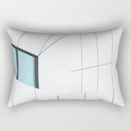 Jameel Arts Centre on Dubai Rectangular Pillow