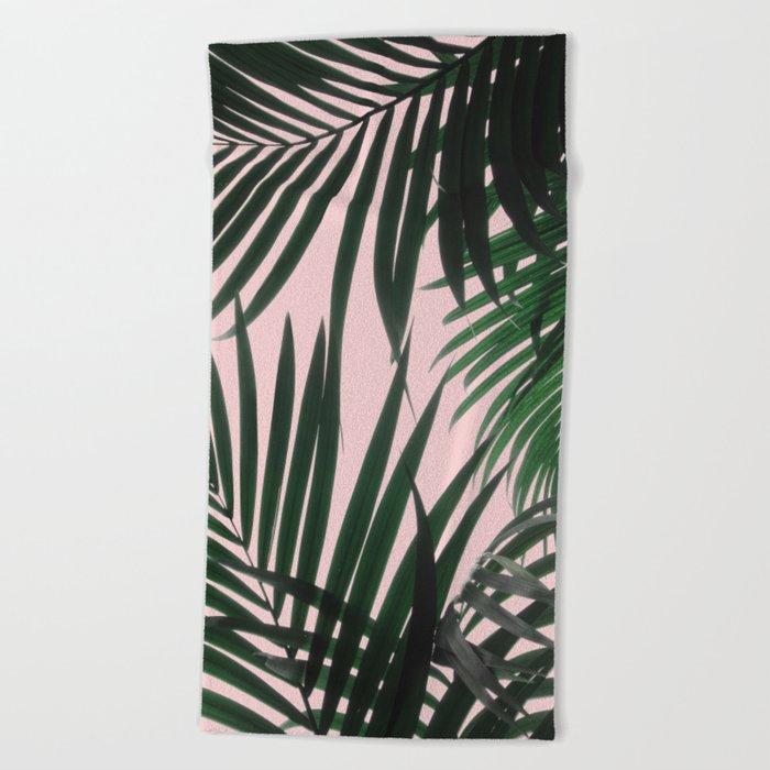 Delicate Jungle Theme Beach Towel