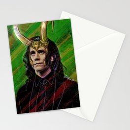 a king is a just man Stationery Cards