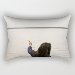 Hey, look there! Rectangular Pillow