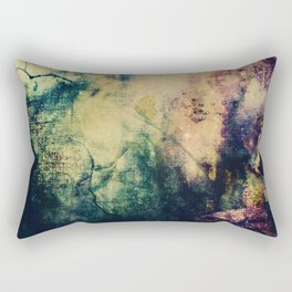 Dark ink texture Rectangular Pillow