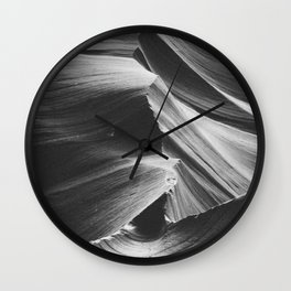 ANTELOPE CANYON IV / Arizona Desert Wall Clock