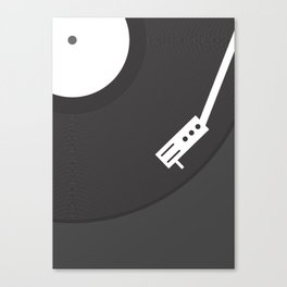 Vinyl Record Canvas Print