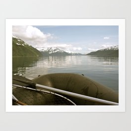 Whittier, Alaska Art Print