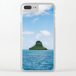 Mokolii Island Straight Ahead Clear iPhone Case