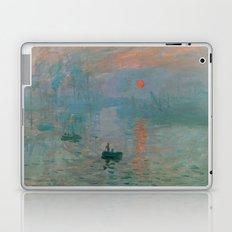 Monet - Impression, Sunrise, 1872 Laptop & iPad Skin