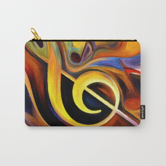 music, painting Carry-All Pouch