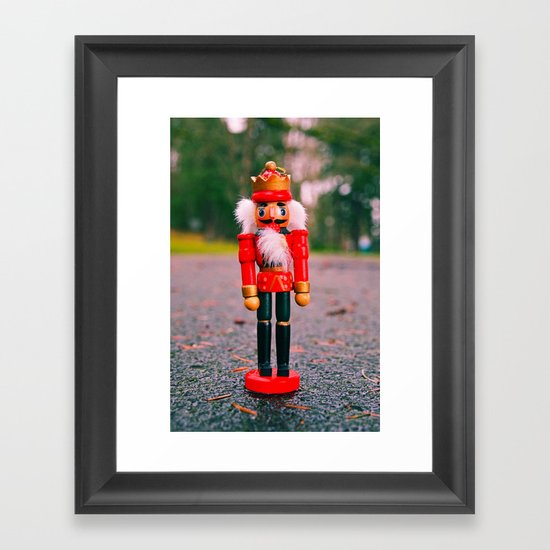 South Park  nutcracker Framed Art Print