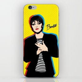 Pat Benatar - Pop Art iPhone Skin