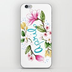 April Flowers iPhone & iPod Skin