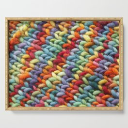 Rainbow Stiches Serving Tray