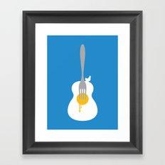 Yolkulele Framed Art Print