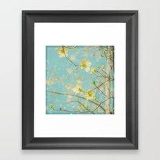 Longing for Spring Framed Art Print