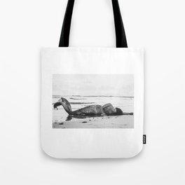 Mermaid Among Us (sunrise)  Tote Bag