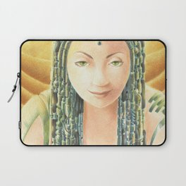Portrait in the Desert Laptop Sleeve