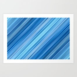 Ambient 1 in Blue Art Print
