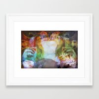 almost famous Framed Art Prints featuring Almost Famous by skela