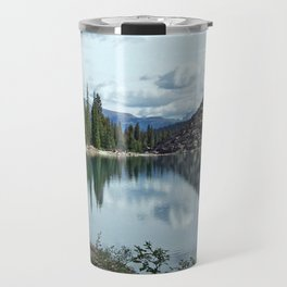 Moraine Lake Alberta Travel Mug