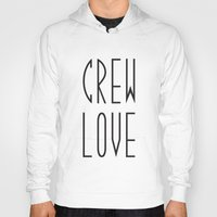 animal crew Hoodies featuring Crew by xMaxie77