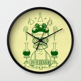 Breaking Bad - Cook with Heinsenberg Wall Clock