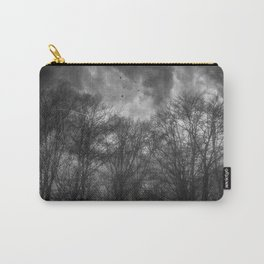 Flight Scratched Carry-All Pouch