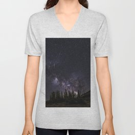 """""""Meteorite at the mountains"""" Unisex V-Neck"""