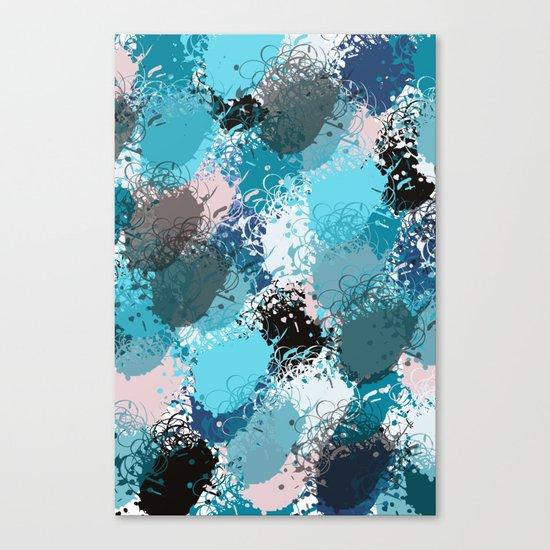 Abstract pattern 68 Canvas Print