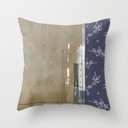 Reflections at the Lake - Close to my Creator Throw Pillow